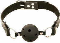 Кляп Fetish Fantasy Series Breathable Ball Gag с отверстиями, черный