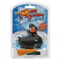 Вибратор утенок I Rub My Duckie travelsize black 10132