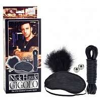 Набор Nick Hawk GIGOLO Tie Me Up & Tease Me Kit - California Exotic Novelties