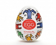 Мастурбатор Keith Haring Egg Dance (Tenga)