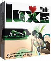 Презервативы Luxe Mini Box Я и Ты №3