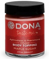 Карамель для тела Dona Body Topping Maple Sugar 59 мл