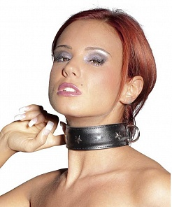 BDSM Ошейник ZADO Leather Collar